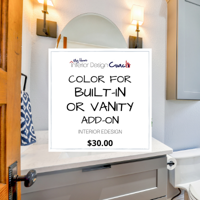 COLOR FOR BUILT IN OR VANITY ADD ON