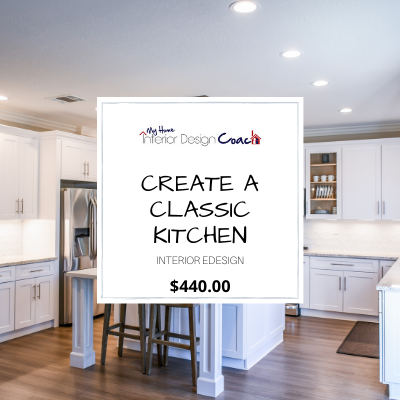 CREATE A CLASSIC KITCHEN