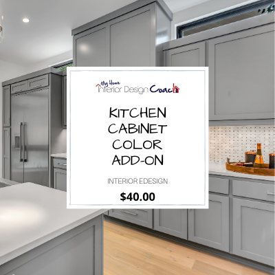 KITCHEN CABINET COLOR ADD ON
